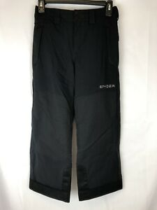 Spyder Active Sports Boys Action Ski Pant, Black, 8