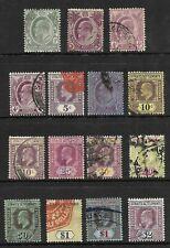 STRAITS & SETTLEMENTS - EDWARD VII - Sc.#109... 1904-11, WMKD.3- CAT.$82.35