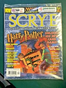 sept 2001 SCRYE #8.6 guide to ccgs harry potter Mage Knight DORK TOWER *sealed*
