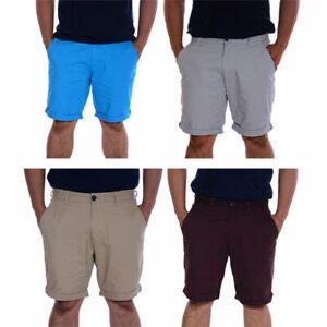 MATALAN Mens Cargo Shorts Casual Cotton Knee Summer Regular Half Bermuda Pants