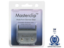 More details for  dog clipper blade 7f a5 masterclip german steel blades carbon cutter fits oster