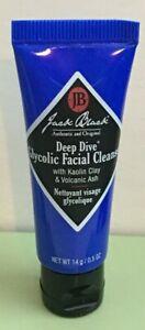 5 Jack Black Deep Dive Glycolic Facial Cleanser 14 g/.5 oz Each Travel Size