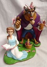 Art of Disney Parks Beauty & and the Beast Figure Belle Reading Figurine Set