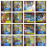 World of Simpsons figures and playsets, rare, BNIB, series - multi listing