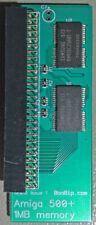 1MB RAM upgrade - Commodore Amiga 500+ trapdoor memory