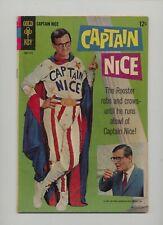 Captain Nice 1 - Gold Key - 1967 - FN-+