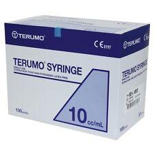 10ml Sterile Premium Terumo Hypodermic Syringe Luer slip (100 Box)