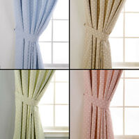 Pair of Dotty Tie Backs to match Dotty Curtains