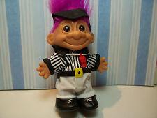 "REFEREE - 5"" Russ Troll Doll  - NEW IN ORIGINAL WRAPPER"