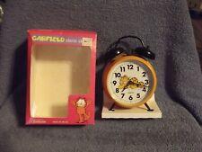 1978 Garfield The Cat Wind Up Alarm Clock MIB
