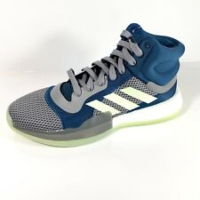 Adidas Marquee Boost F97277 Mens Basketball Shoes Size 11.5  Mineral Green/Grey