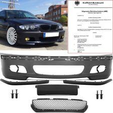 BMW E46 Limo Touring Stoßstange vorne + Zubehör für M-Paket II + ABE* TÜV FREI