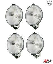 4x 6 Inch Ø Round Fog Spot Bull Bar Lights Lamps Glass Lens Todoterreno 4X4