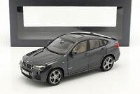 BMW X4 F26 Baujahr 2014 sophisto grau metallic 1:18 ParagonModels