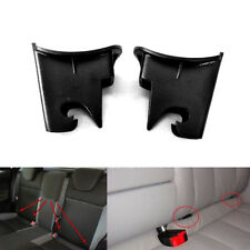 2x ABS Plastic Car Baby Seat ISOFIX Latch Belt Connector Guide Groove Black