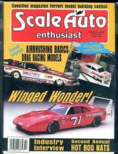 Scale Auto Enthusiast Magazine October 1990 Winged Wonder EX No ML 122316jhe