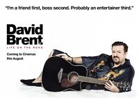 DAVID BRENT: LIFE ON THE ROAD Movie PHOTO Print POSTER Ricky Gervais Office 002