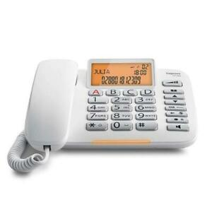 SIEMENS GIGASET DL580 TELEFONO FISSO COLORE BIANCO