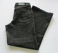 Colorado Womens Sz 8 Hudson Straight Leg Mid Rise Cropped Jeans Black VGC
