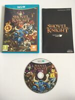 Shovel Knight (Nintendo Wii U) - PAL - Complete - Excellent - ** FAST & FREE **