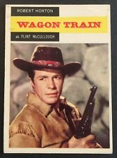 Vintage 1958 Topps TV WESTERNS card #47 FLINT McCULLOUGH (2)- combined ship