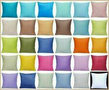"20x20"" 100% Cotton Throw Pillow Case Multi-Color Decorative Soft Cushion Cover"