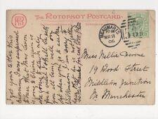Miss Nellie Devine Wood Streetl Middleton Junction Manchester 1906 291a