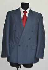 Men's Striped Two Button Double Breasted Suits & Tailoring