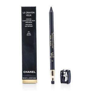 NEW Chanel Le Crayon Yeux (No. 01 Noir) 1g/0.03oz Womens Makeup