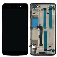 FIX FOR Alcatel One Touch Idol 4 6055 6055U 6055P LCD Touch Digitizer + Frame