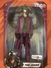 "DARK KNIGHT THE JOKER 12"" 2008 MATTEL TOYSRUS EXCLUSIVE RARE NEW (HEATH LEDGER)"
