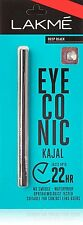 1 x Lakme Eyeconic Kajal 0.35g Black 22Hrs No Smudge Waterproof Long-Lasting NEW