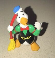 Gaylord Gander w/Broom Bully Pvc Disney '84 Wdp Figure Donald Duck Excellent