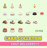 🍰 All Cake 🧁Complete Collection🎂 Mom's Wedding Birthday Cake 18 Pcs FASTEST!!