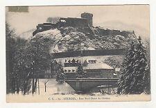 *** LOURDES - Face Nord Ouest du Château *** 1920 - CPA 1594