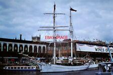 PHOTO  SS EYE OF THE WIND'AT BRISTOL CITY DOCKS 1978  NORTH SEA  BALTIC TRADER T