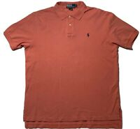 Polo Ralph Lauren Men's Polo Shirt Pale Raspberry Multicolor Short Sleeve Size L
