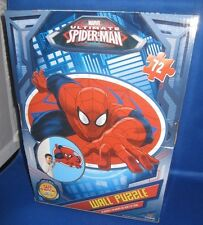 "CARDINAL MARVEL SPIDER-MAN 46 PIECE WALL PUZZLE 24'X 36"" NEW IN BOX"