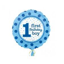 Amscan 3254101 junge 1. Geburtstag Folienballon