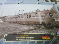 Lokarchiv A Triebwagen 69 ET 25501 DB Höllentalbahn, 1950