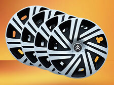 "Set of  4x14"" wheel trims to fit Citroen  C1,C2,Saxo"