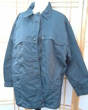 Size L Roxy Womens Juniors Snow Jacket navy blue great condition!