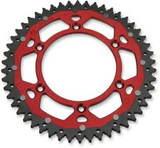50T Red Dual Rear Sprocket Moose 1210-1468 For 84-20 Honda CR CRF XR