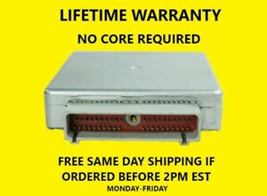1990 FORD E150-E250 VAN ECM, 78-4890  LIFETIME WARRANTY, NO CORE.