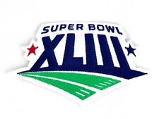 Super Bowl XLIII Embroidered Patch Pittsburgh Steelers and Arizona Cardinals