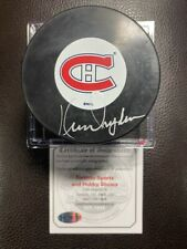 KEN DRYDEN Signed Autographed Montreal Canadiens Vintage InGlasCo Hockey Puck