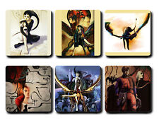 Panzer Dragoon Saga art coasters set - Mug tea cup gift coaster sega saturn rpg