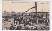 """Marokko - AK """"Ein arabischer Brunnen"""" [Un puits Arabe] 1919 !!!"""