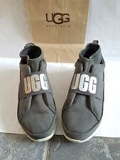 Original /WOMAN'S. UGG UGGS Snickers. SIZE 7 or eu 40 gray colour.