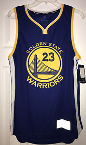 Men's Golden State Warriors Jersy Green 23 Size Small New With Tags